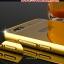 (025-156)เคสมือถือ Case Huawei Honor 4C/ALek 3G Plus (G Play Mini) เคสกรอบโลหะพื้นหลังอะคริลิคเคลือบเงาทองคำ 24K thumbnail 4