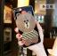 (025-639)เคสมือถือไอโฟน Case iPhone 7 Plus/8 Plus เคสนิ่มหมีไลน์ Glitter แหวนเพชรมือถือและสายคล้องคอถอดแยกสายได้ thumbnail 4