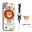 (025-882)เคสมือถือไอโฟน Case iPhone X เคสนิ่มซิลิโคนลายน่ารักพร้อมแหวนมือถือและสายคล้องคอถอดแยกได้ thumbnail 2
