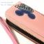 กระเป๋าสตางค์ใบยาว QQ Mouse สีชมพูโอรส แบบซิปรอบสีทอง thumbnail 9