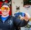 แว่นตาปั่นจักรยาน 100% Speedcraft Cyan <Blue mirror short lens> thumbnail 12