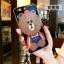 (025-565)เคสมือถือ Huawei P10 Plus เคสนิ่มลายหมี พร้อมสายคล้องคอแบบถอดแยกได้ thumbnail 4