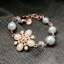 Chanel Flower Pearl Bracelet สร้อยข้อมือมุกแต่งดอกไม้สไตล์ชาแนล thumbnail 5