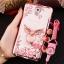 (598-001)เคสมือถือซัมซุงโน๊ต Note3 Neo เคสนิ่มซิลิโคนใสลายหรูติดคริสตัล พร้อมแหวนเพชรวางโทรศัพท์ และสายคล้องคอกดแยกออกได้ thumbnail 4