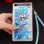 (549-001)เคสมือถือ Case Huawei P8 Lite เคสพลาสติกใส Glitter ทรายดูดหัวใจ thumbnail 7