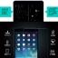 (039-084)ฟิล์มกระจก iPad Mini 4 รุ่นปรับปรุงนิรภัยเมมเบรนกันรอยขูดขีดกันน้ำกันรอยนิ้วมือ 9H HD 2.5D ขอบโค้ง thumbnail 8