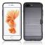 (002-167)เคสมือถือไอโฟน Case iPhone 7 Plus เคสนิ่ม+พื้นหลังพลาสติกกันกระแทกมีช่องใส่การ์ด thumbnail 9