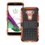 (002-124)เคสมือถือ Case LG G5 เคสนิ่ม+พื้นหลังประกบแบบพลาสติก+มีขาตั้งสไตล์กันกระแทก thumbnail 7