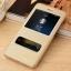 (516-008)เคสมือถือ Case Huawei P8 Lite เคสพลาสติกฝาพับ Pu โชว์หน้าจอแบ็คแกมมอน thumbnail 2
