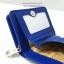 กระเป๋าสตางค์ใบสั้น ลายโบว์น่ารัก สีน้ำเงิน-ครีม (สินค้าลดราคา ตรงซิปมีรอยถลอกนิดหน่อยค่ะ) thumbnail 5