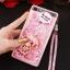 (549-001)เคสมือถือ Case Huawei P8 Lite เคสพลาสติกใส Glitter ทรายดูดหัวใจ thumbnail 6