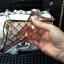 (442-008)เคสมือถือ Case OPPO R9 Plus เคสนิ่มใสขอบชุบแววลายโมเสคแก้ว thumbnail 5