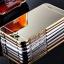 (025-170)เคสมือถือ Case Huawei Ascend G7 เคสกรอบโลหะพื้นหลังอะคริลิคเคลือบเงาทอง 24K thumbnail 1