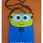 กระเป๋าใส่มือถือ หรือ ของกระจุ๊กกระจิ๊ก ลายมินเนี่ยน Minion Despicable Me แบบหนัง พร้อมสายสะพาย thumbnail 1