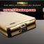 (025-166)เคสมือถือออปโป้ OPPO Joy 3 เคสกรอบโลหะพื้นหลังอะคริลิคเคลือบเงาทองคำ 24K thumbnail 5