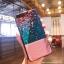 (639-004)เคสมือถือไอโฟน Case iPhone7 Plus/iPhone8 Plus เคสนิ่มวินเทจดอกไม้กระจกบลูเรย์ thumbnail 3