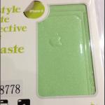 ฟิล์มกันรอยกากเพชรสำหรับไอโฟน 4/4s สีเขียวอ่อน