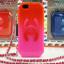 เคสไอโฟน 5/5s/SE TPU Case Chanel สีแดงชมพู พร้อมสายคล้องคอ thumbnail 1