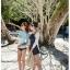 ชุดว่ายน้ำวันพีช ลายขวางเส้นเล็กๆ ช่วยเน้นให้สาวๆ ดูมีสัดส่วนที่ดีขึ้น thumbnail 10