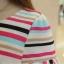 เดรสสั้นลายขวาง สีสันสดใส ช่วยขับผิวขาวให้สาวๆ เย็นสบายด้วยเนื้อผ้าชีฟอง thumbnail 20