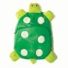 กระเป๋าเป้ เด็ก Linda รูปเต่าสีเขียว ลายนี้น่ารักสุดๆ ค่ะ วัสดุเป็นหนัง PVC นิ่ม น้ำหนักเบา