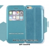 LEIERS® Ultra Slim Thin Smart Slide Window View Flip Leather Stand Case Cover for iPhone 5/5s