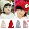 หมวกไหมพรม น่ารักสไตล์เกาหลี