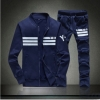 ชุดเสื้อแจ็คเก็ต-กางเกงขายาว : สีน้ำเงิน-น้ำเงิน รุ่น KOMA ST0003
