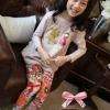 กางเกงแฟชั่นเด็กหญิง มาใหม่ สไตล์เกาหลี แบบเก๋