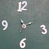 ชุดตัวเครื่องนาฬิกาญื่ปุนเดินเรียบ เข็มลายโมเดิน ขนาดเล็ก เข็มสั้น-เข็มยาวสีฟ้า เข็มวินาทีสีแดง อุปกรณ์ DIY