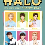 [Pre] Halo : 2nd Mini Album - Happy Day +Poster