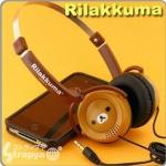 หูฟังลาย คุมะ ( Rilakkuma )