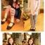 ชุดเซตเด็กหญิง 2 ชิ้น เสื้อ+กางเกง ผ้าเนื้อดีน่ารักสไตล์เกาหลี ( สีน้ำเงิน ) thumbnail 2