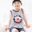 ชุดเซตเด็กหญิง 2 ชิ้น เสื้อ+กางเกง ผ้าเนื้อดีน่ารักสไตล์เกาหลี thumbnail 1