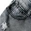 กางเกงขาสั้นผ้ายีนส์หญิงเกาหลีควันสีเทายีนส์กางเกงขาสั้น thumbnail 6
