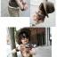 cisi เสื้อยืดเด็กคอกลม สีน้ำตาล ด้านหน้าสกรีนรูปหมีน่ารัก ใส่สบาย ไม่ร้อน น่ารัก สไตล์เกาหลี thumbnail 2