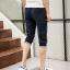 กางเกงขาสั้น3ส่วน JOGGER NAVY/WHITE STRIPED thumbnail 7