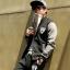ชุดเสื้อแจ็คเก็ต-กางเกงขายาว : สีเทา - ดำ รุ่น KOMA ST0006 thumbnail 1