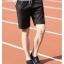 กางเกงขาสั้นแฟชั่นเกาหลี CAMO ฺBLACK thumbnail 3