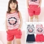 ชุดเซตเด็กหญิง 2 ชิ้น เสื้อ+กางเกง ผ้าเนื้อดีน่ารักสไตล์เกาหลี thumbnail 6