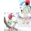 เสื้อกล้ามเด็ก สีขาวขอบเขียว สดใส ด้านหลังรูปดาวหลากสี สไตล์เกาหลี น่ารักสุดๆ thumbnail 2