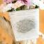 Pre-Order ตระกร้า ที่ใส่จดหมาย ดอกไม้ แขวนผนัง ปั้มพื้นผิวนูน ทำสีเก่า มี 3 ขนาด Zakka thumbnail 10