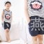 ชุดเซตเด็กหญิง 2 ชิ้น เสื้อ+กางเกง ผ้าเนื้อดีน่ารักสไตล์เกาหลี thumbnail 5