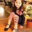 ชุดเซตเด็กหญิง 2 ชิ้น เสื้อ+กางเกง ผ้าเนื้อดีน่ารักสไตล์เกาหลี ( สีน้ำเงิน ) thumbnail 1