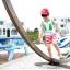เสื้อกล้ามเด็ก สีขาวขอบเขียว สดใส ด้านหลังรูปดาวหลากสี สไตล์เกาหลี น่ารักสุดๆ thumbnail 4