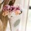 Pre-Order ตระกร้า ที่ใส่จดหมาย ดอกไม้ แขวนผนัง ปั้มพื้นผิวนูน ทำสีเก่า มี 3 ขนาด Zakka thumbnail 9