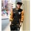 ชุดเสื้อแจ็คเก็ต-กางเกงขายาว : สีเหลือง - ดำ รุ่น KOMA ST0005 thumbnail 2