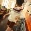 Pre Order เสื้อถักกันหนาวผู้หญิง Hitz แขนยาว ถักลาย สไตล์เกาหลี thumbnail 6