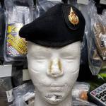 หมวกใบเล่ย์ดำ จัดทรง ตั้ง NO.4