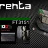 ผ้าเบรคหลัง BRENTA ORGANIC BRAKE PADS สำหรับ (Honda CRF250L) FT3151